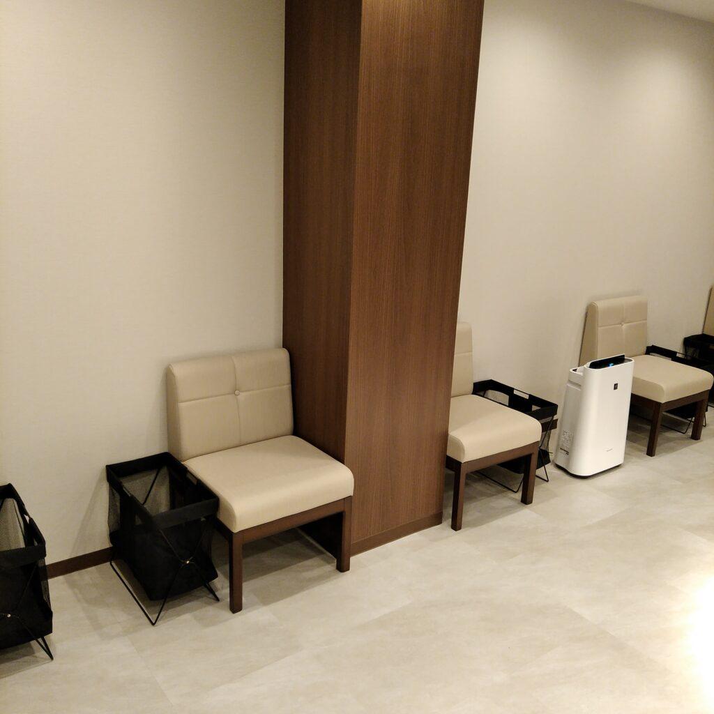池袋の心療内科の待合室